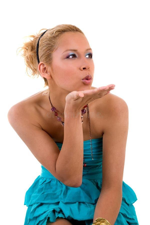 ręka pocałunek zdjęcia stock