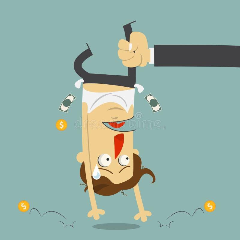 Download Ręka Potrząsalny Pieniądze Od łamał Mężczyzna Płacz Tła Postać Z Kreskówki Zuchwałych ślicznych Psów Szczęśliwa Głowa Odizolowywa Ilustracja Wektor - Ilustracja złożonej z pracownik, biznes: 53786460