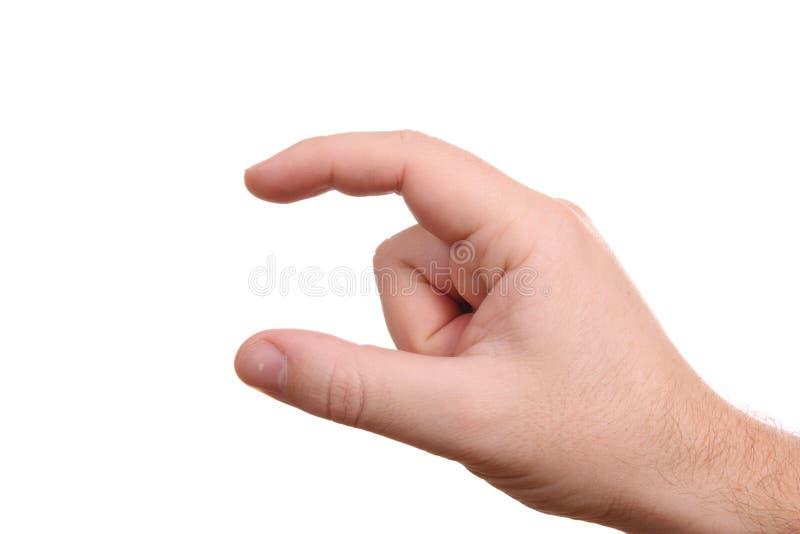ręka pusty mężczyzna obrazy royalty free