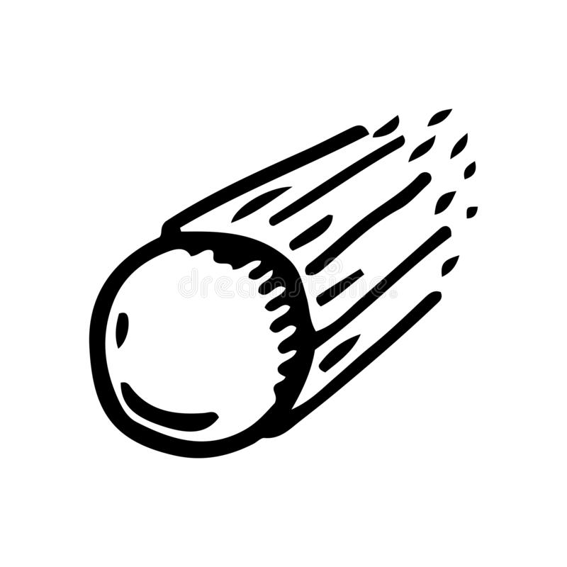 Ręka Rysujący gwiaździsty doodle Nakre?lenie stylowa ikona Dekoracja element pojedynczy bia?e t?o P?aski projekt r?wnie? zwr?ci?  royalty ilustracja