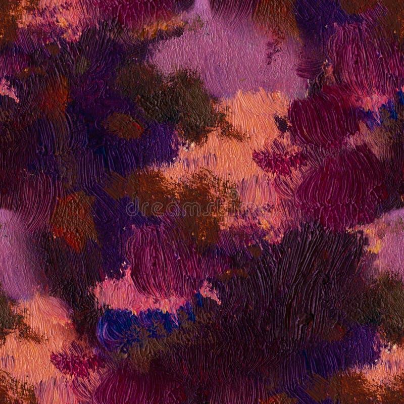 Ręka rysujący obraz olejny sztuki abstrakcjonistycznej tło Obraz olejny na kanwie Kolor tekstura Czerep grafika Punkty zdjęcie royalty free