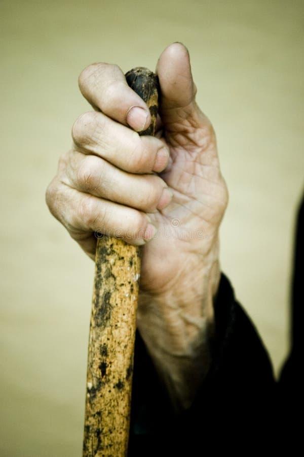 ręka stara obrazy stock