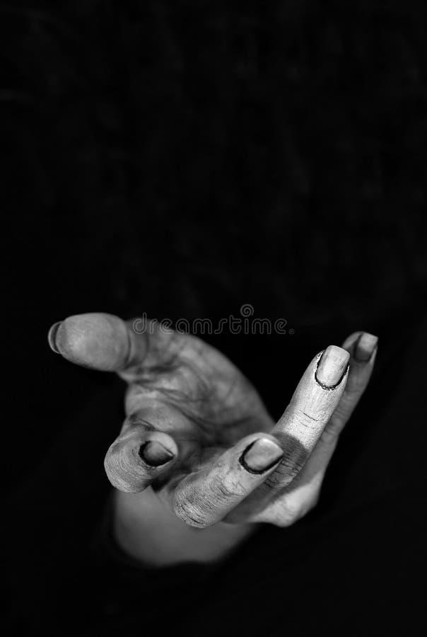 ręka straszna obrazy stock