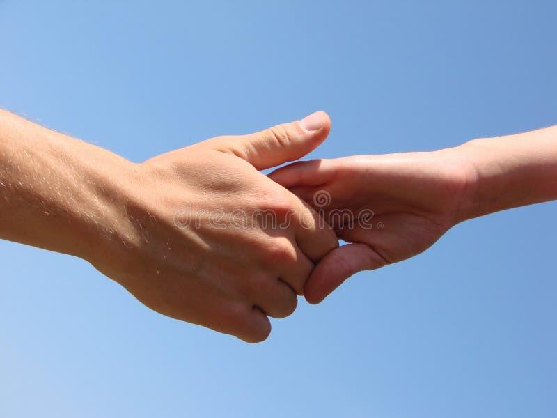 Ręka w ręce obraz royalty free