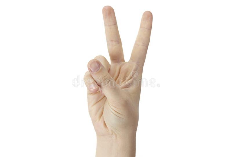 ręka znak obraz royalty free