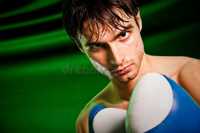 rękawiczka bokserski mężczyzna zdjęcia royalty free