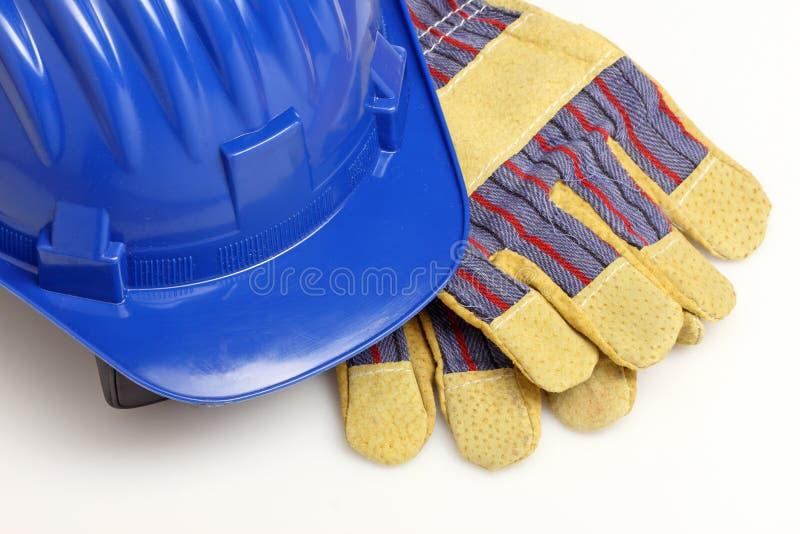 rękawiczka hełm obraz royalty free
