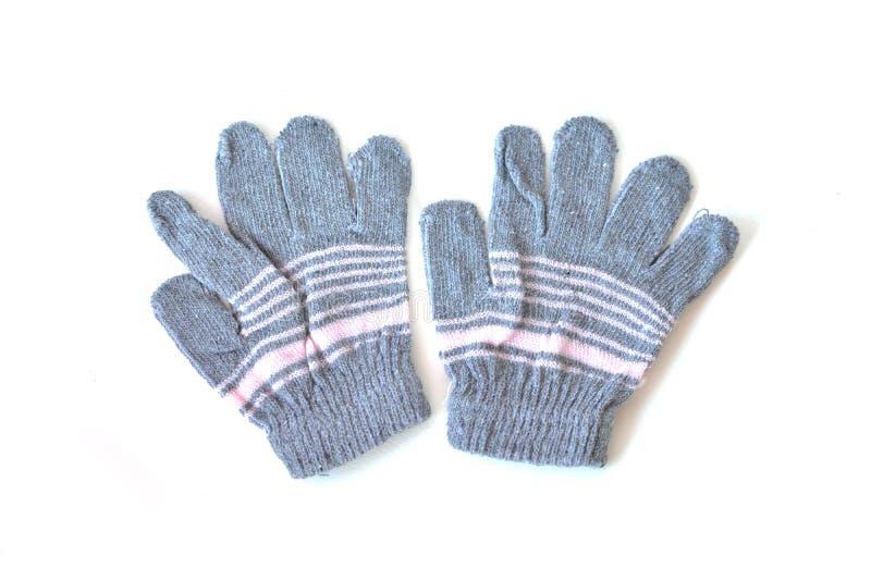 Rękawiczka na białym tle zdjęcie stock