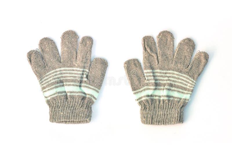 Rękawiczka na białym tle zdjęcie royalty free