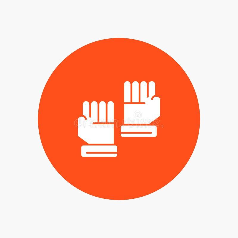 Rękawiczka, rękawiczki, bramkarz, sport royalty ilustracja