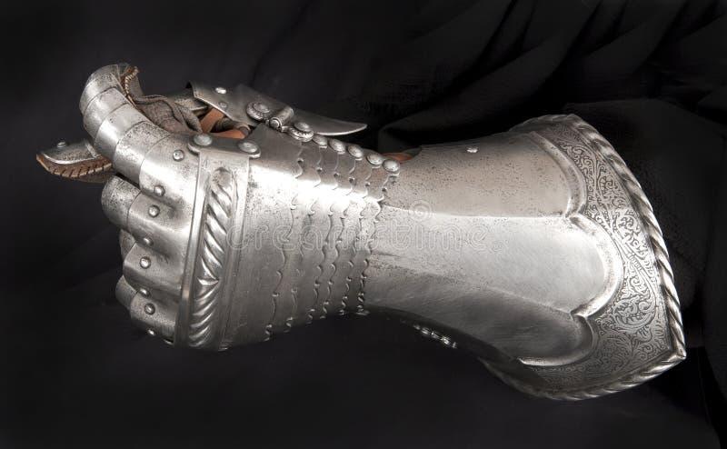 Rękawiczka rycerz obraz royalty free
