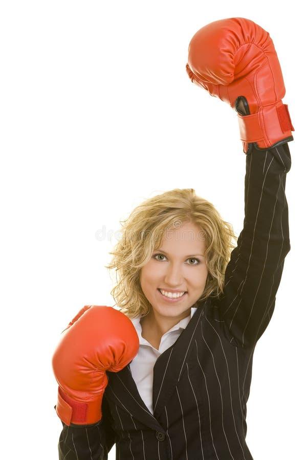 rękawiczki bokserska radość obrazy royalty free