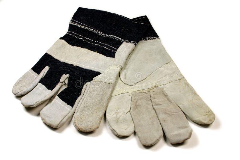 rękawiczki drelichowa pracy zdjęcia royalty free
