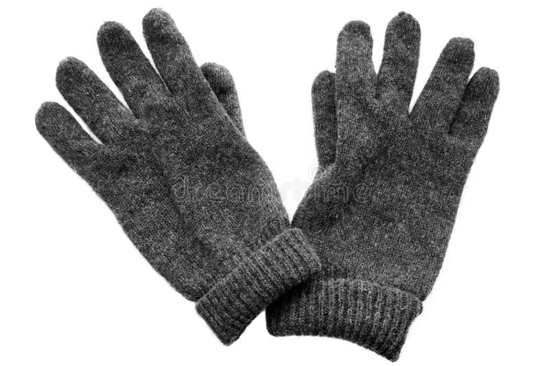 rękawiczki odizolowywali biel zdjęcia royalty free