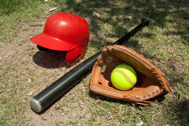 rękawiczkowy softball zdjęcie royalty free