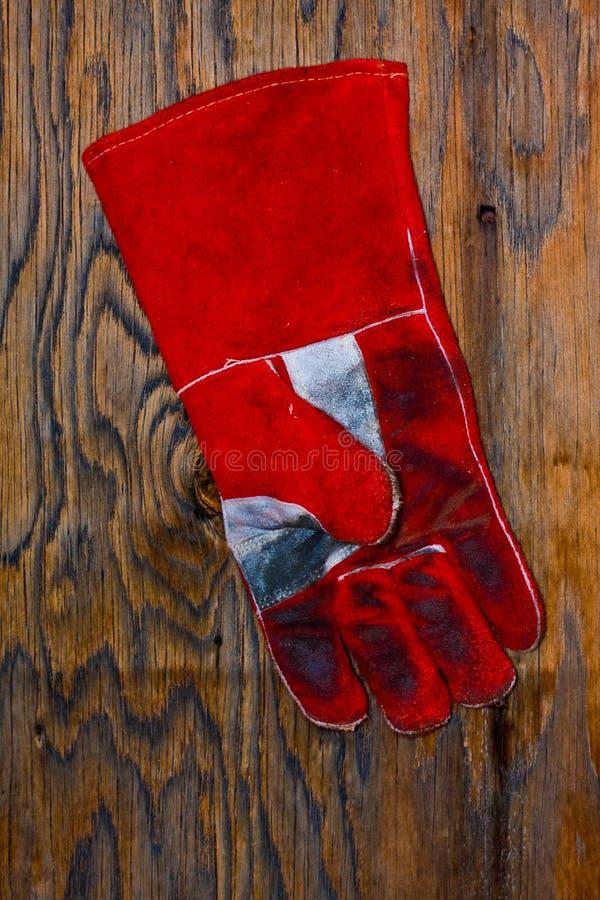 rękawiczkowy spaw zdjęcie stock