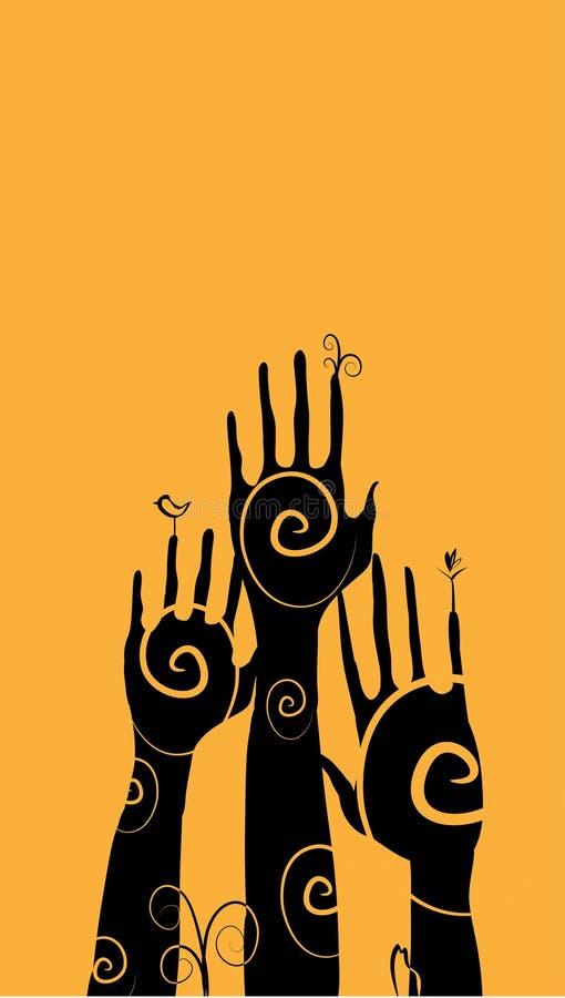 ręki ilustracji