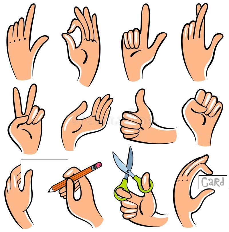 ręki royalty ilustracja