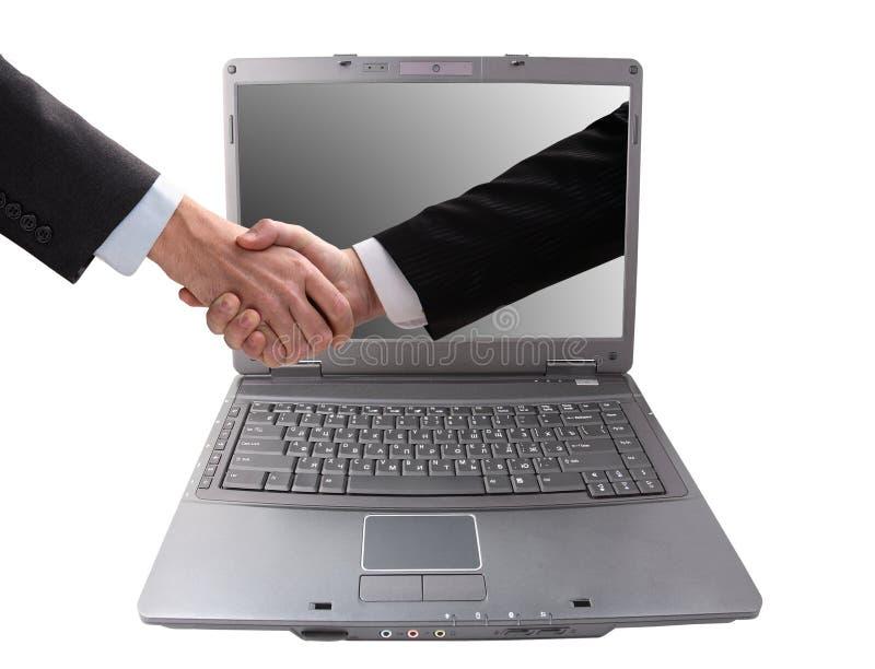ręki biznesowy potrząśnięcie obraz stock