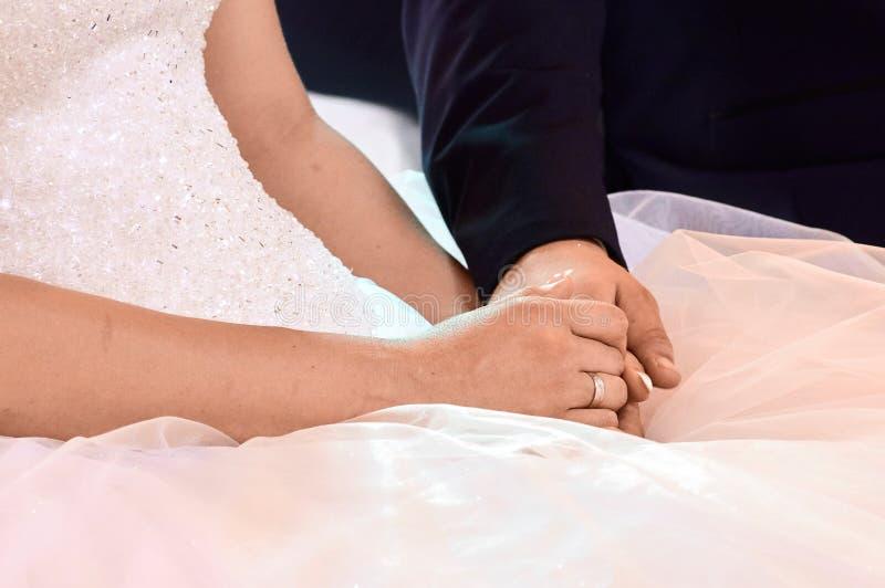 Ręki coiples zdjęcie stock