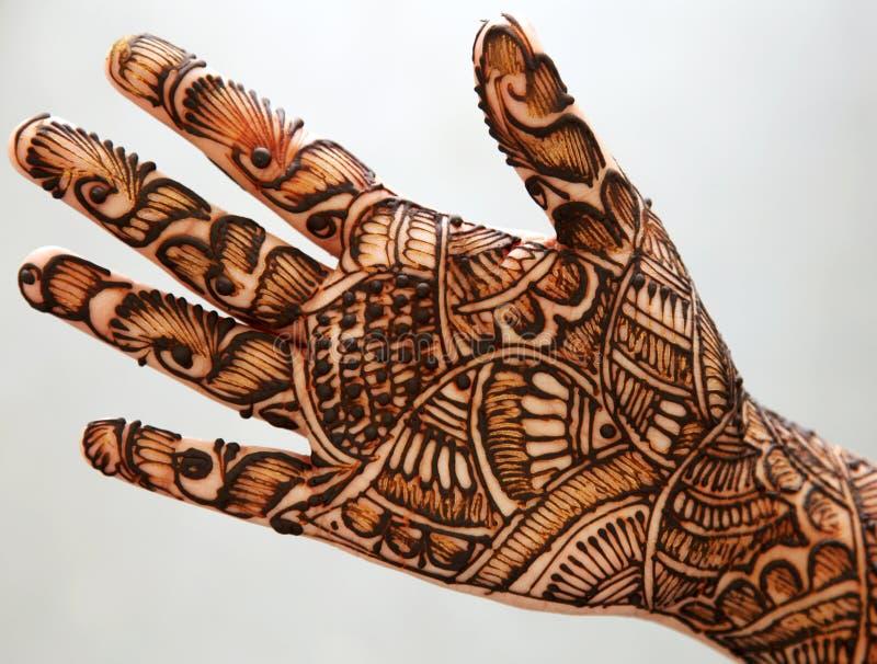 ręki henna zdjęcie stock