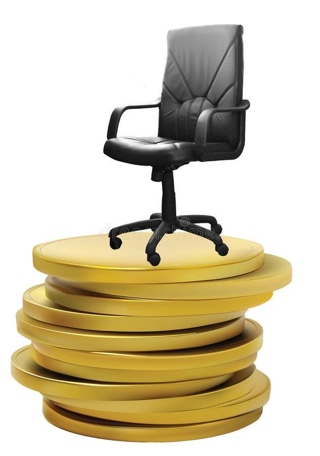 ręki krzesła biuro zdjęcia royalty free