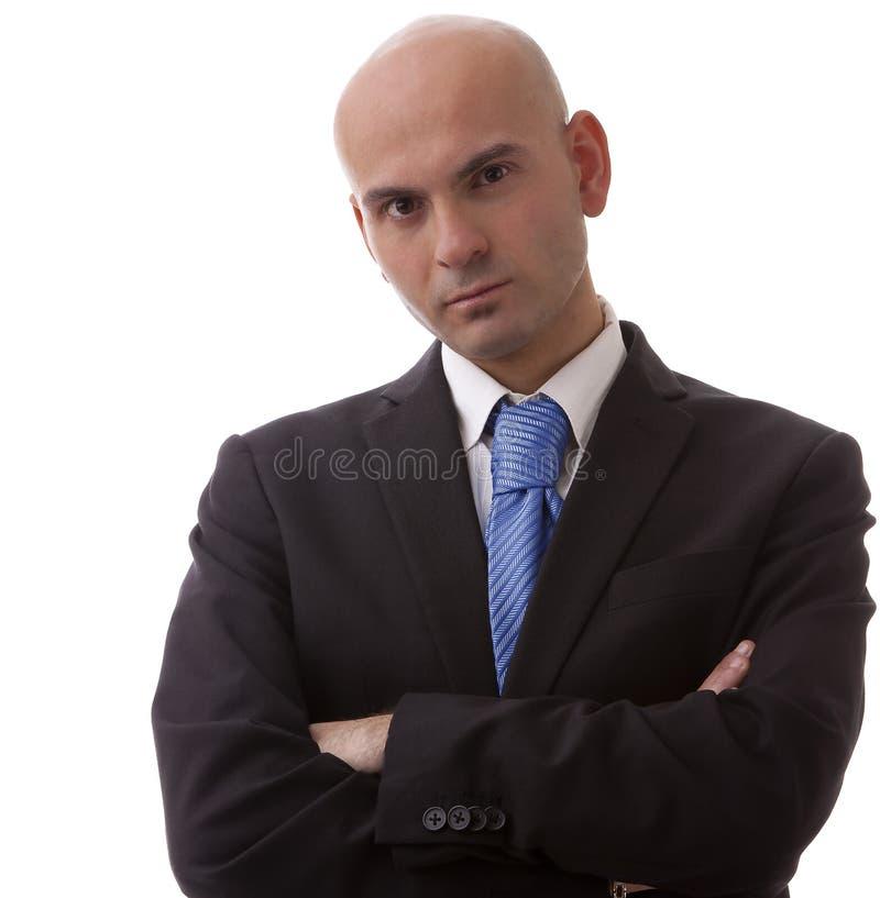 ręki krzyżujący mężczyzna obraz stock