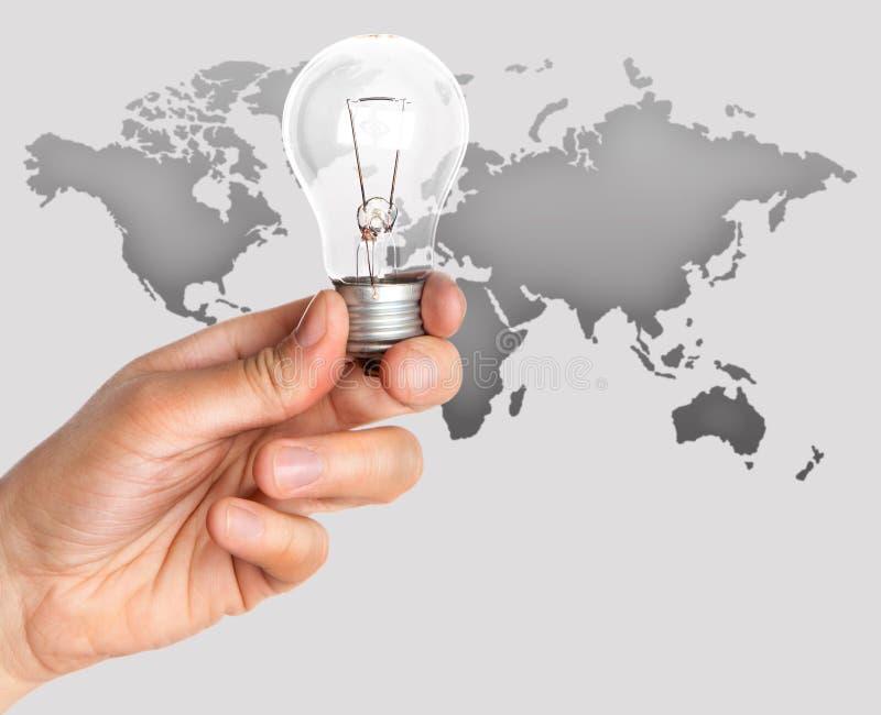 ręki lampa zdjęcia royalty free