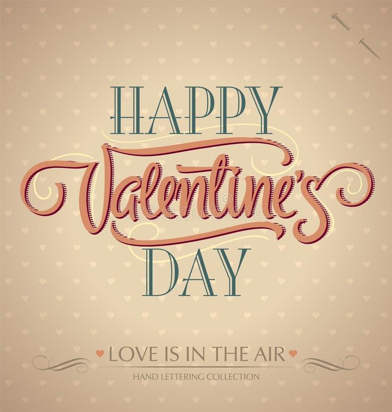 ręki literowania s valentine ilustracja wektor