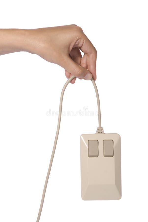 ręki mysz zdjęcie stock