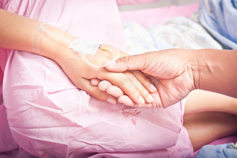 Ręki pacjenci obrazy stock