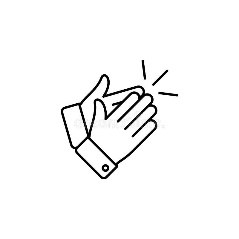 Ręki, pięść, knykieć, palce zarysowywają ikonę Element prosta ikona dla stron internetowych, sieć projekt, wisząca ozdoba app, ew ilustracji