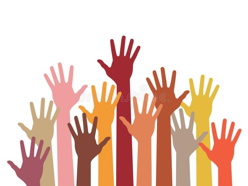 Ręki Podnosić Zdjęcia Stock