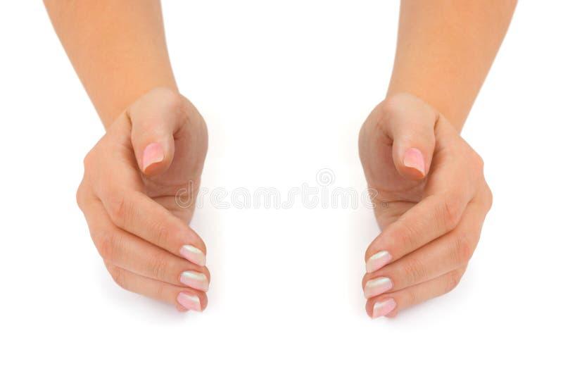 ręki pusta kobieta zdjęcia royalty free