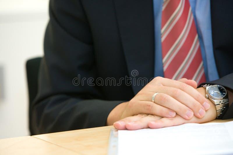 ręki spokojnie postura fotografia stock