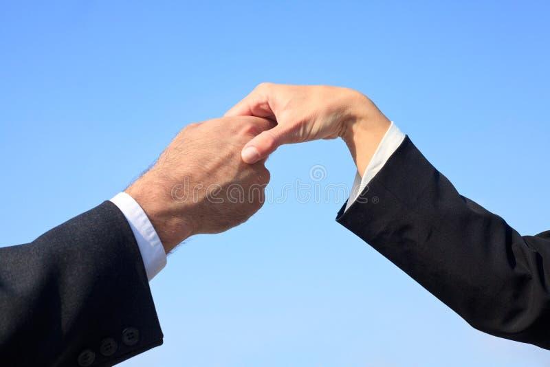 ręki target1369_1_ mężczyzna kobiety zdjęcie royalty free