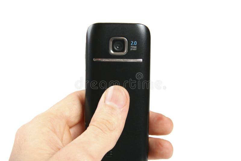 ręki telefon komórkowy obrazka zabranie obraz stock