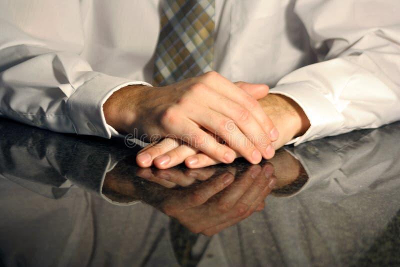 Ręki w spotkaniu zdjęcie stock