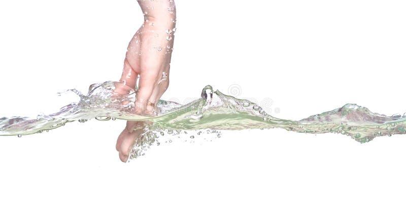 ręki woda fotografia royalty free