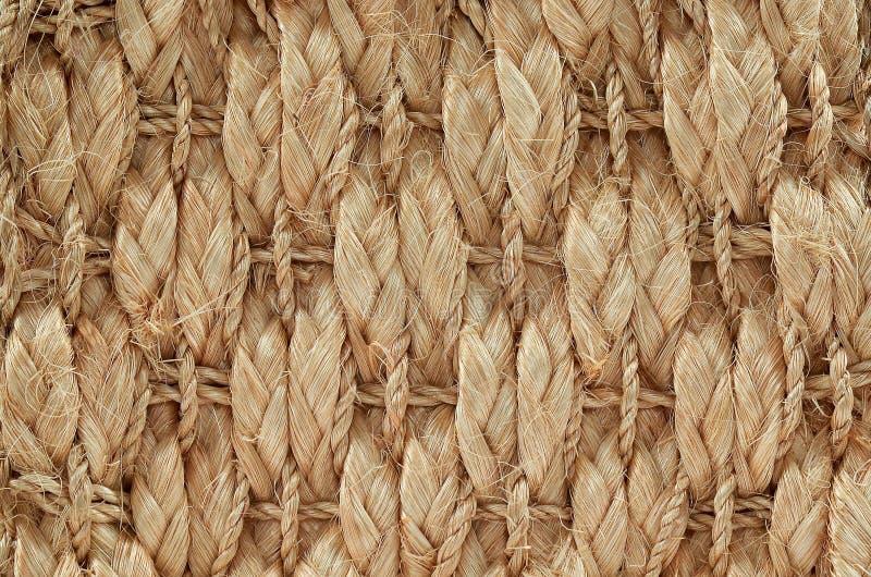Ręki Wyplatający, Wiązany dywanika szczegół/ zdjęcia stock