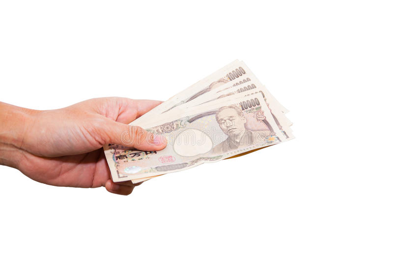 Rękojeść pieniądze zdjęcie royalty free