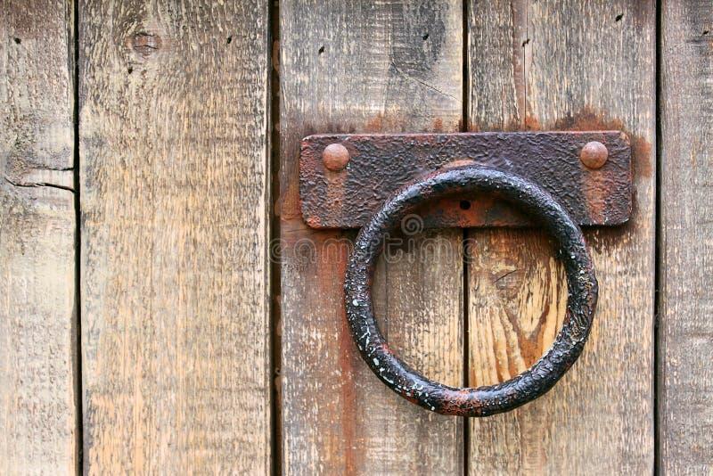 rękojeści metalu stary rdzewiejący obraz stock