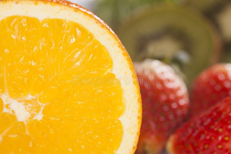 Rżnięta pomarańcze zdjęcia royalty free