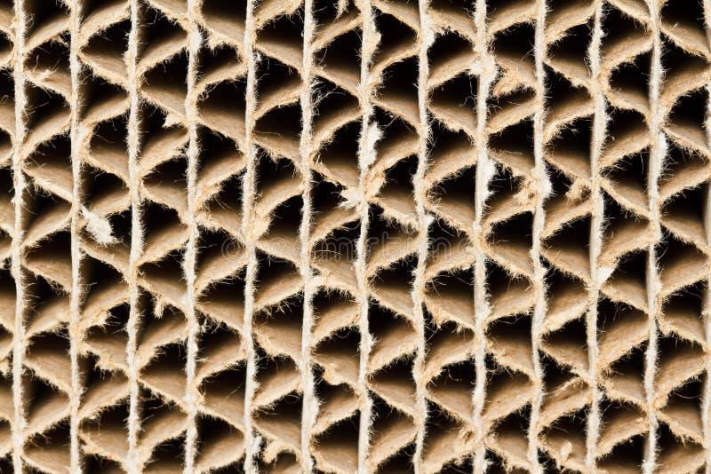 Rżnięta powierzchnia karton. zdjęcia stock