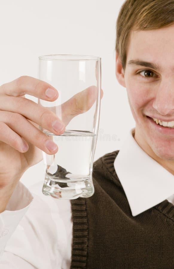 rżniętego szkła przyrodnia mężczyzna przedstawienie woda obrazy royalty free