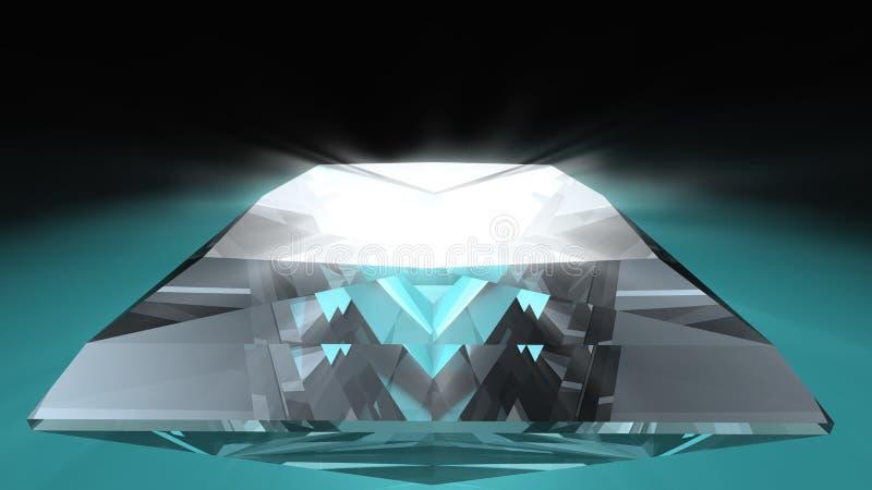 rżnięty diamentowy princess