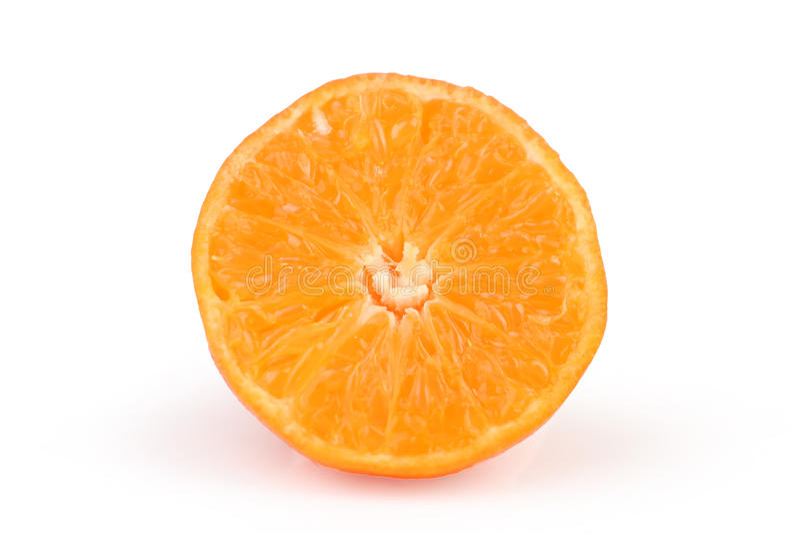 Download Rżnięty dojrzały tangerine obraz stock. Obraz złożonej z trzy - 13339829