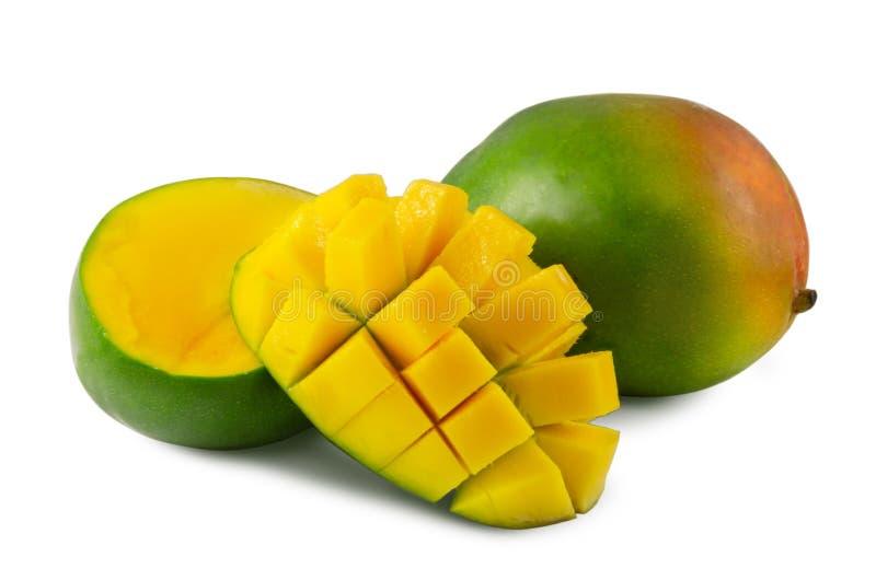 R?ni?ty mango odizolowywaj?cy na bia?ym tle zdjęcia royalty free