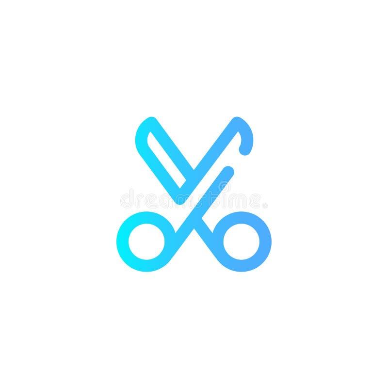 Rżnięty wektorowy ikona znaka symbol ilustracja wektor