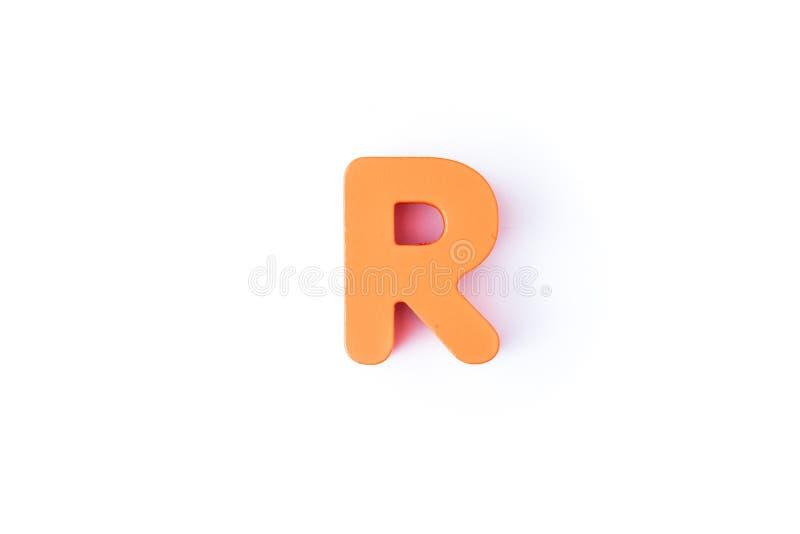 R信件用英语 库存照片
